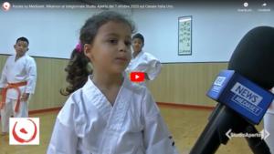 Servizio Karate Mediaset