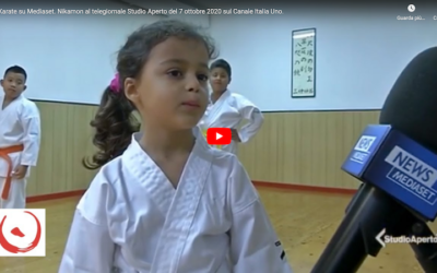 Karate on Mediaset TV – Interview to our Master